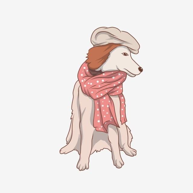Cartoon Wild Animal Costume Dress Up Wolf, Illustration ...