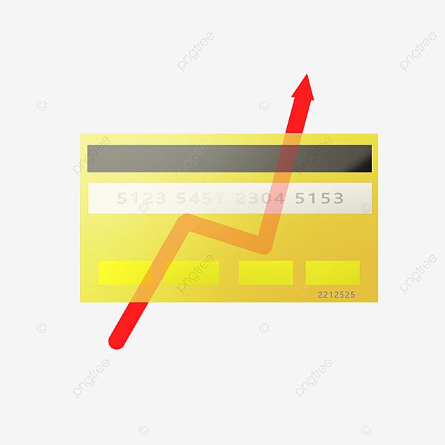 Financial Theme Cartoon Style Curve Financial VIP Consumption, Curve