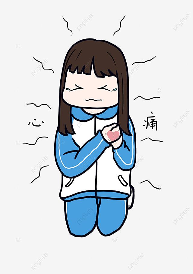 Image de personnage de dessin anim petite fille pack dexpression scolaire personnage de dessin - Image de personnage de manga ...