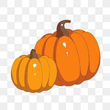Happy Boy Standing Beside a Big Pumpkin Carved Into a Jack-o'-lantern for  Halloween Clipart