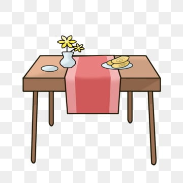 Brown Dining Table Png Vector Psd And Clipart With