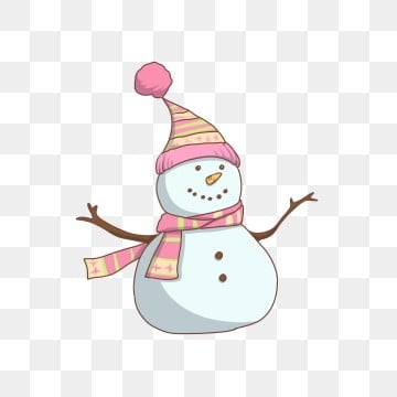 pngtree celebrate christmas festival snowman png image 439073