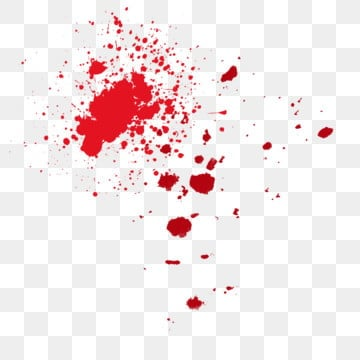 red bloodstain splashing ink abstract, Decoration, Bloodstain, Blood Drop Stain Carrier PNG and PSD illustration image