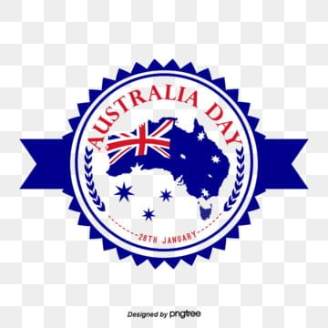 blue australian map flag emblem icon design, Originality, Creative Flag, Business Affairs PNG and PSD