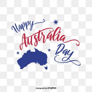 blue australian map font elements, Originality, Creative Flag, Business Affairs PNG and PSD