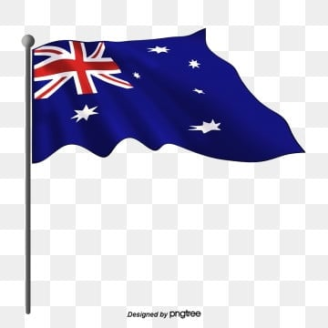 blue realistic australian flag elements, Originality, Creative Flag, Business Affairs PNG and PSD