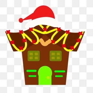 Christmas Gingerbread House Background.Gingerbread House Png Vector Psd And Clipart With