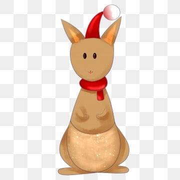 Christmas Kangaroo Cartoon.Christmas Kangaroo Png Images Vectors And Psd Files Free