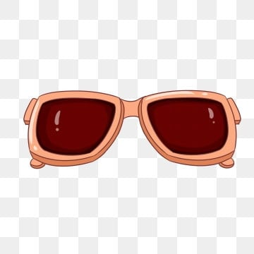 The Ray Ban Style Red Wayfarers Sunglasses P Clip Art at Clker  |Cartoon Red Sunglasses