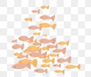 Рыбка Морская жизнь аквариум Рыбная школа, Рыба клипарт, желтый, розовый PNG и PSD