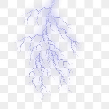 Lightning And Thunder Png, Vector, PSD, and Clipart With