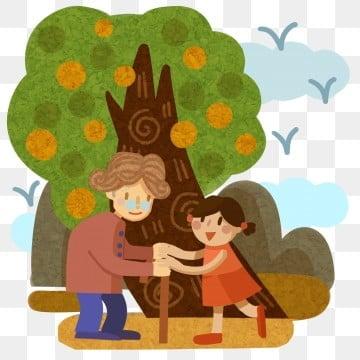 尊敬する チョンヤン おばあちゃん 義母, 家族で楽しむ, お手入れ, 姥姥 PNGとPSD