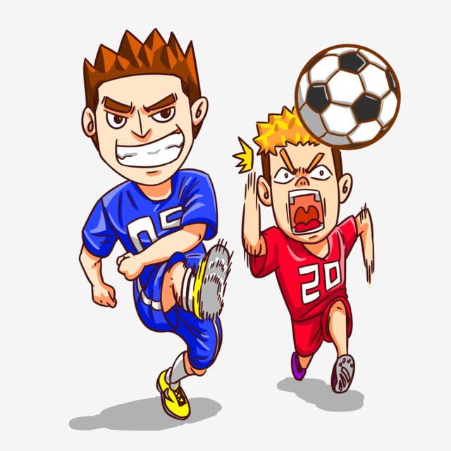 Gambar Bola Sepak Bola Sepak Bermain Seragam Sepakbola Seragam Sepak Bola Dua Orang Bermain Bola Sepak Tembakan Tujuan Png Dan Psd Untuk Muat Turun Percuma