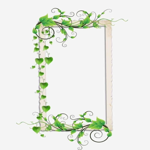 gambar bingkai foto hijau daun hijau kartun anggur hijau minimalis dijahit bingkai foto hijau png dan psd untuk muat turun percuma hijau daun hijau kartun anggur hijau