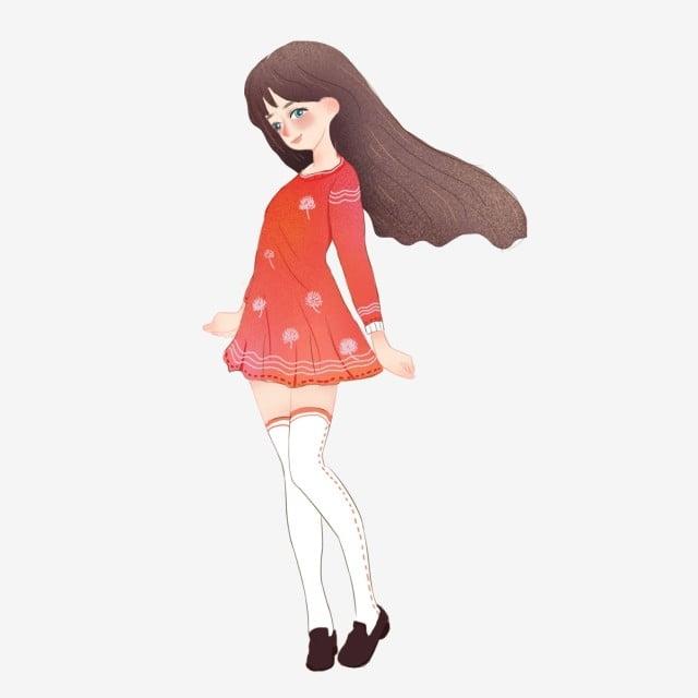 Süßes japanisches junges Mädchen