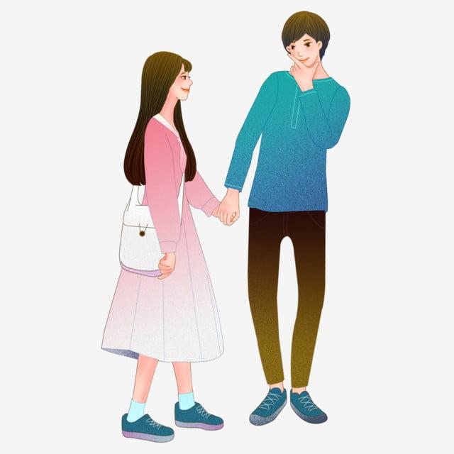韓国のカップルイラスト 恋人 カップル 愛してる 韓国の手をつないでカップルイラスト かわいいキャラクターのイラスト 手描きのキャラクターイラスト 画像とpsd素材ファイルの無料ダウンロード Pngtree