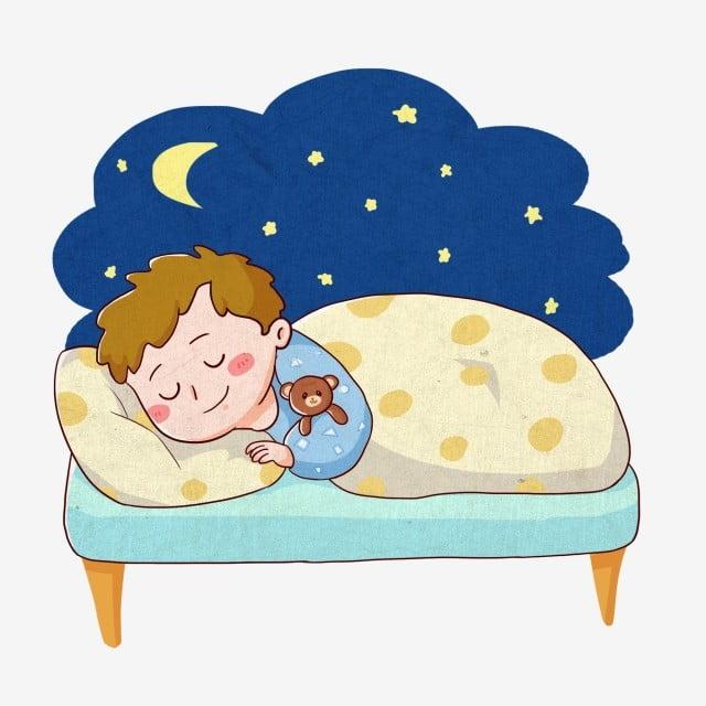 Дети спят в кроватках картинки