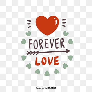 Forever Love PNG Images | Vector and PSD Files | Free