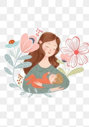 maternal  family mom mother, Mothers Day, Mother Holding Baby, Maternal PNG and PSD