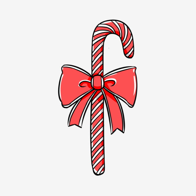 Christmas Candy Png.Cartoon Candy Cane Candy Cane Delicious Candy Christmas