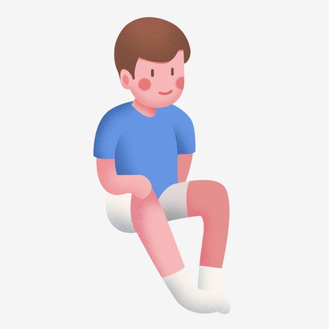dessin anim u00e9 position assise homme jeune homme assis jeune