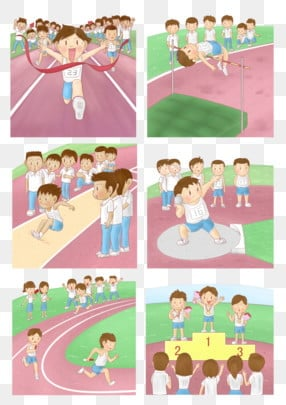 School Sport Day PNG Images | Vector and PSD Files | Free