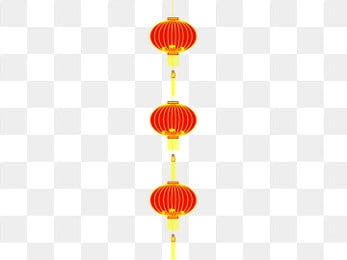 804244a430543 hand drawn chinese style group illustration red lantern illustration three  groups of red lanterns high hanging