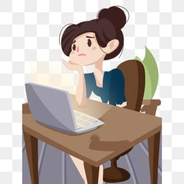 компьютер Думая поздно ночью Думать о доске Одна ночь, поздно ночью светящийся компьютер, Растение в горшке, на компьютерном столе PNG и PSD