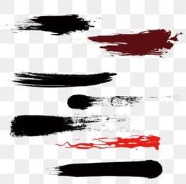 чернила кисть кисть акварель кисти китайский стиль чернила кисть эффект, различные чернила, ручная роспись кистью, Чернила кисть PNG и PSD