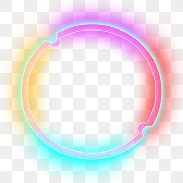 neon bar circular, Neon Lights, Neon, Neon Effect PNG and PSD