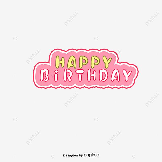 文字 happy birthday