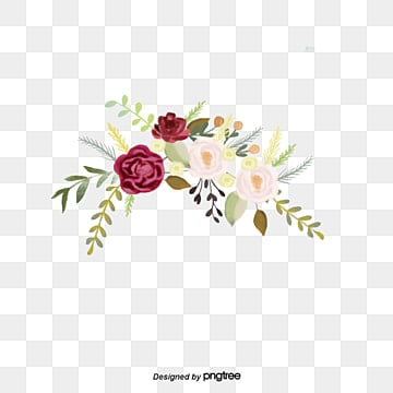 Burgundy Flowers Png Vector Psd And Clipart With Transparent