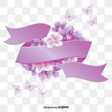 Purple Flowers Png Images Vector And Psd Files Free