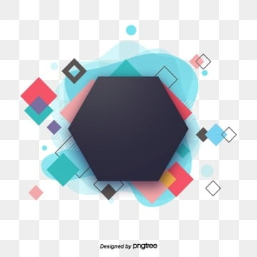 Fashion Creative Polygon Geometry Banner Visual Design, Banner, Web, Geometry PNG and PSD