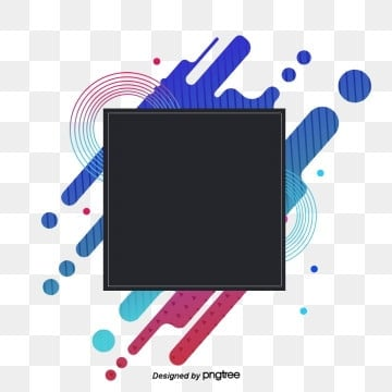 Fashionable Colorful Geometric Abstract Gradual Visual Elements, Banner, Web, Geometry PNG and PSD