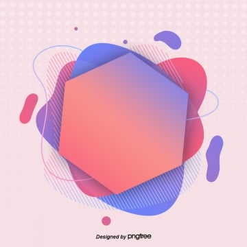 Fashionable Colourful Geometric Fluid Gradual Abstract Element Banner Painting, Banner, Web, Geometry PNG and PSD