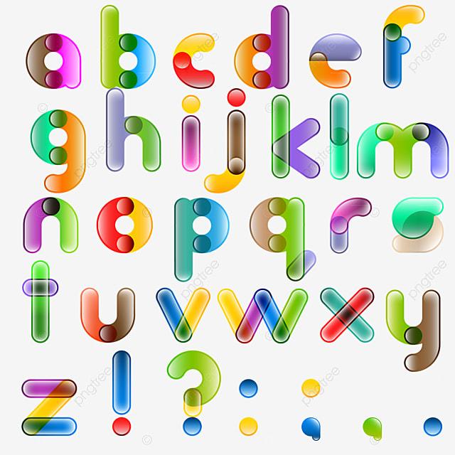 Candy Letters 3d letter Candy color AlphabetsSugar letters. Fonts