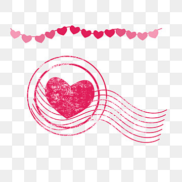 Pink Border Heart Element, Round Border, Wedding Celebration, Heart-shaped PNG and PSD