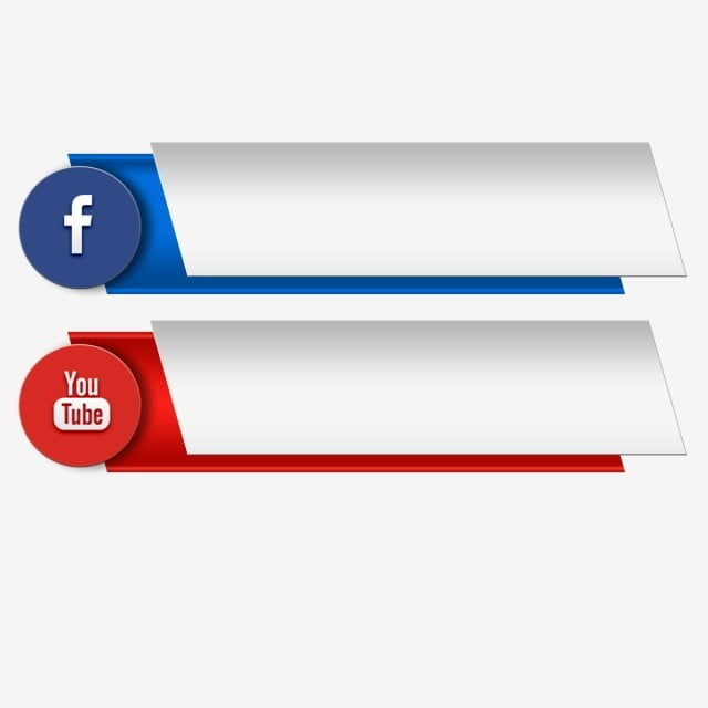 Youtube Social Media Banner Youtube Icons Social Icons Page Png Transparent Clipart Image And Psd File For Free Download