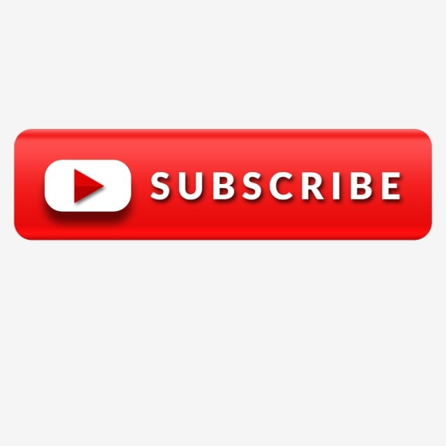 Youtube Subscribe Icon Attractive Button, Social, Like