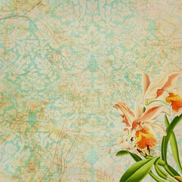 decorative vintage floral wallpaper, Background, Vintage Floral, Floral PNG and PSD