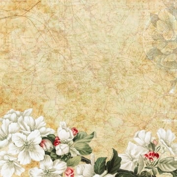 elegant vintage floral background, Background, Vintage Floral, Floral PNG and PSD