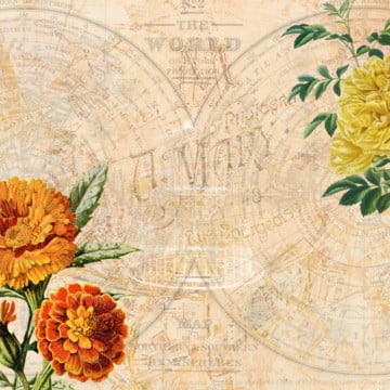 elegant vintage wallpaper, Background, Vintage Floral, Floral PNG and Vector