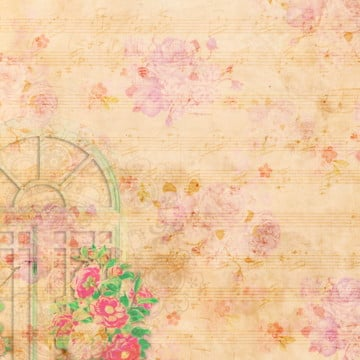 floral pattern background, Vintage Floral, Floral, Rose PNG and PSD