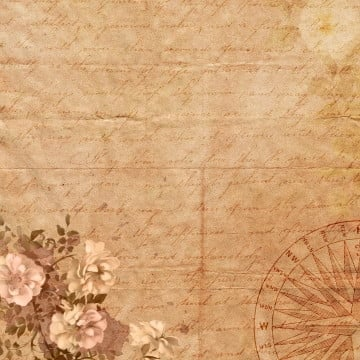 vintage floral background, Vintage Floral, Rose, Music Clipart PNG and PSD