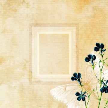vintage floral background, Background, Vintage Floral, Butterfly PNG and PSD