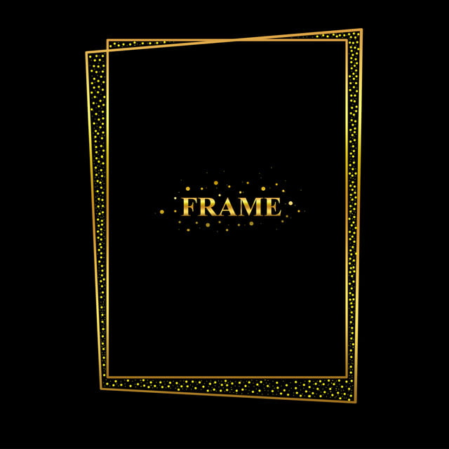 8bd99018f940 Abstract Gold Frame