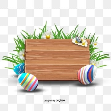 easter creative grass easter eggwood brand border elements, Rabbit, Resurrection Rabbit, Easter PNG and PSD