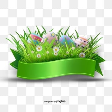 green easter egg border creative ribbon elements, Rabbit, Resurrection Rabbit, Easter PNG and PSD