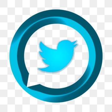 Twitter colorful. Icons png vector psd